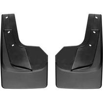 WEATHERTECH 120093 NO-DRILL DIGITALFIT REAR MUDFLAPS 2019-2021 RAM 1500 (WITHOUT FACTORY FENDER FLARES)