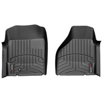 WEATHERTECH 440121 BLACK FRONT FLOORLINER DODGE RAM 1500 PICKUP QUADCAB 2002 - 2006 4WD