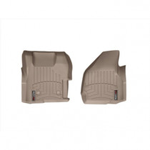 WEATHERTECH 454221 FRONT FLOORLINER, TAN 2011-2012 FORD SUPER DUTY (REGULAR CAB - WITH 4X4 FLOOR SHIFTER W/O RAISED DEAD PEDAL)