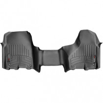 WEATHERTECH 444771 FRONT FLOORLINER, BLACK  2012-2018 RAM (CREW/MEGA CAB - AUTOMATIC W/O 4X4 FLOOR SHIFTER AND PTO KIT)(OVER-THE-HUMP)