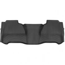 WEATHERTECH 445424 REAR FLOORLINER, BLACK FOR 2015-2019 GM SILVERADO/SIERRA 2500HD/3500HD (CREW CAB - WITH OEM REAR UNDER SEAT STORAGE)