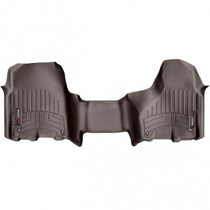 WEATHERTECH 474771 FRONT FLOORLINER, 2012-2018 RAM (CREW/MEGA CAB - AUTOMATIC W/O 4X4 FLOOR SHIFTER AND PTO KIT)(OVER-THE-HUMP), COCOA