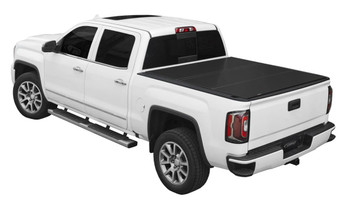 """AGRI-COVER B1020039 LOMAX FOLDING HARD COVER FOR 15-19 CHEVY GMC FULL SIZE 2500/3500 6'6"""" BOX"""