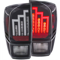 ANZO 311281 LED TAIL LIGHTS (BLACK) FOR 2016-2019 TOYOTA TACOMA