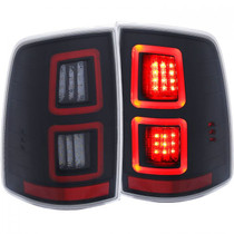 ANZO 311273 LED TAILLIGHT (BLACK) FOR 09-19 DODGE RAM