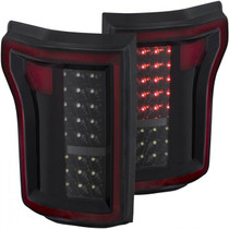 ANZO 311261 LED TAILLIGHT (BLACK) FOR FORD F-150