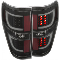 ANZO 311257 LED TAILLIGHT G2 (BLACK) FOR 09-14 FORD F-150