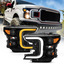 ANZO 111400 PROJECTOR HEADLIGHTS FOR 2018-2020 FORD F-150