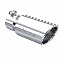 """MBRP T5155 UNIVERSAL 4"""" ANGLED CUT ROLLED END EXHAUST TIP"""