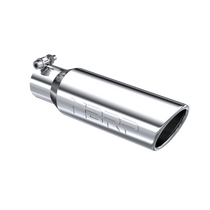 """MBRP T5113 UNIVERSAL EXHAUST TIP 3.5"""" OD ANGLED ROLLED END 2.5"""" INLET 10"""" LENGTH, T304"""