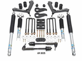 READYLIFT 69-3035 3.5'' SST LIFT KIT FRONT WITH 2'' REAR WITH FABRICATED CONTROL ARMS AND BILSTEIN SHOCKS- GM SILVERADO / SIERRA 2500HD 2020-2021