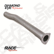 DIAMOND EYE MANUFACTURING 220101 EXHAUST PIPE FOR 1989-1993 DODGE 5.9L CUMMINS 2500/3500 4X4 ONLY (ALL CAB AND BED LENGTHS)