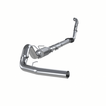 """MBRP S6218P 4"""" TURBO BACK, SINGLE SIDE EXIT (ALUMINIZED 3"""" DOWNPIPE) (1994-1997 FORD - F-250/350 7.3L)"""