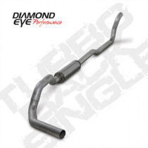 DIAMOND EYE MANUFACTURING K4209A-RP-HX40 4 INCH TURBO BACK WITH HX40 DOWNPIPE FOR 89-93 DODGE 2500/3500 5.9L