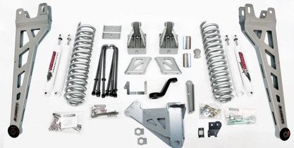 """MCGAUGHY'S SUSPENSION 57311 6"""" PREMIUM LIFT KIT PHASE 2 FOR 2017-2021 FORD F350 4WD"""