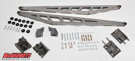 MCGAUGHY'S SUSPENSION 52018 TRACTION BAR KIT FOR 2002-2010 GM 2500/3500 2WD/4WD