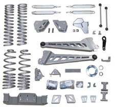"""MCGAUGHY'S SUSPENSION 54414 8"""" PREMIUM LIFT KIT FOR 2019+ DODGE RAM 2500 (4WD,COIL REAR)"""