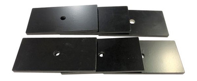 MCGAUGHY'S SUSPENSION 52361 REAR LEAF LIFT SHIMS FOR 2011-2020 GM 2500/3500 (2WD/4WD)