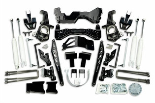 """MCGAUGHY'S SUSPENSION 52456 7"""" PREMIUM BLACK SS LIFT KIT FOR 2020+ GM 2500 2WD/4WD, GAS & DIESEL"""