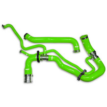 PPE 119022300 PERFORMANCE SILICONE UPPER AND LOWER COOLANT HOSE KIT GREEN (2011-2016 GM 6.6L DURAMAX)