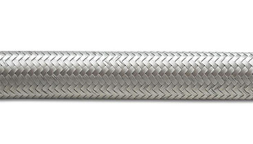"""VIBRANT PERFORMANCE 11916 10' ROLL OF STAINLESS STEEL BRAIDED FLEX HOSE AN SIZE -6 HOSE ID 0.34"""""""