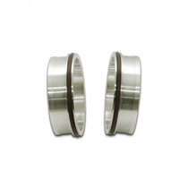 """VIBRANT PERFORMANCE 12556 STAINLESS STEEL WELD FITTING W/ O-RINGS FOR 3"""" OD TUBING"""
