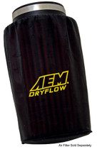 """AEM INDUCTION SYSTEMS 1-4001 PREFILTER AIR FILTER WRAP (6"""" BASE 51/4"""" TOP 9"""" TALL)"""