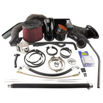 INDUSTRIAL INJECTION 227456K CUMMINS 3RD GEN 5.9L COMPOUND TURBO KIT - KIT ONLY (2003-2007)
