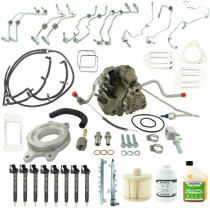 INDUSTRIAL INJECTION 4G6106 LML BOSCH DISASTER KIT WITH EMISSIONS INTACT CP3 CONVERSION KIT 2011-2016 DURAMAX