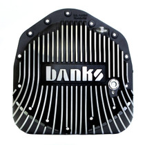 BANKS 19249 DIFFERENTIAL COVER KIT BLACK 11.5/11.8-14 BOLT 2001-2019 GM 2500HD/3500HD | 2003-2018 DODGE RAM 2500/3500* (WITH AA14-11.5 AXLE)