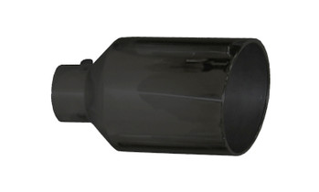 """PYPES PERFORMANCE EXHAUST EVT510B 5"""" IN X 10"""" OUT X 18"""" LONG MONSTER TIP BLACK"""