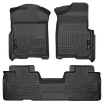 HUSKY LINERS 98341 FRONT & 2ND SEAT FLOOR LINERS (FOOTWELL COVERAGE) (2009-2014 Ford F-150)