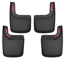HUSKY LINERS 58476 FRONT AND REAR MUD GUARD SET (2017-2021 Ford F-250/350)