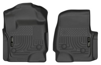 HUSKY LINERS 13321 FRONT FLOOR LINERS (2017-2021 Ford F-250  /350/450)