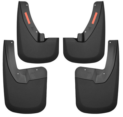 HUSKY LINERS 58186 FRONT AND REAR MUD GUARD SET (2009-2021 DODGE Ram)