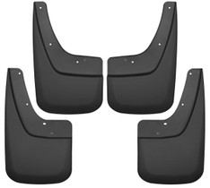 HUSKY LINERS 56896 FRONT AND REAR MUD GUARD SET (2014-2019 GMC Sierra)