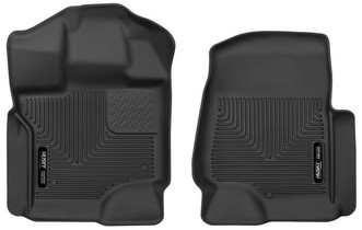 HUSKY LINERS 53361 FRONT FLOOR LINERS (2017-2021 Ford F-250/350/450)