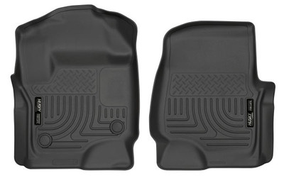 HUSKY LINERS 13301 FRONT FLOOR LINERS (2017-2022 Ford Super Duty)