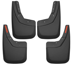HUSKY LINERS 56886 FRONT AND REAR MUD GUARD SET (2014-2019 Chevrolet Silverado)
