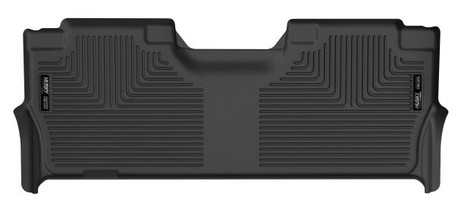 HUSKY LINERS 53381 2ND SEAT FLOOR LINER (WITH FACTORY BOX) (2017-2021 Ford Super Duty)