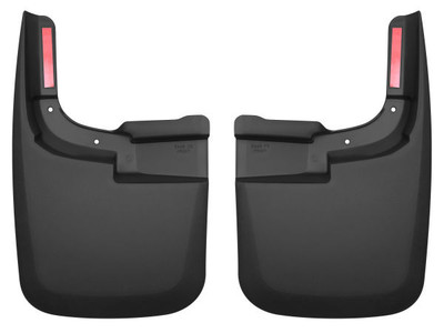 HUSKY LINERS 58461 FRONT MUD GUARDS (2017-2022 Ford F-250/350)