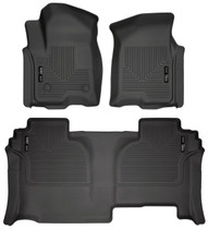 HUSKY LINERS 94031 FRONT & 2ND SEAT FLOOR LINERS (2019-2021 Chevrolet Silverado)