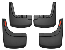HUSKY LINERS 58266 FRONT AND REAR MUD GUARD SET (2019-2022 Chevrolet Silverado 1500)