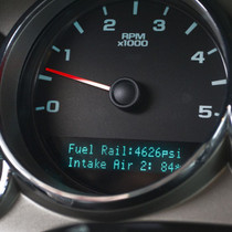 AUTOMETER DL1045U DASHCONTROL OBDII DISPLAY CONTROLLER, GM FULL SIZE TRUCK (GMT900), DIESEL 2007.5-2014