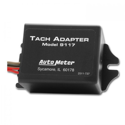 AUTOMETER 9117 RPM SIGNAL ADAPTER FOR DISTRIBUTORLESS IGNITIONS UNIVERSAL