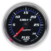 "AUTOMETER 6161 2-1/16"" FUEL PRESSURE, 0-30 PSI, STEPPER MOTOR, COBALT UNIVERSAL"