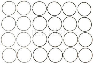 MAHLE 6.7L ENGINE PISTON RING SET .02 INCH (11-13 POWERSTROKE)