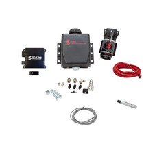 SNOW PERFORMANCE SNO-20010 Stage 2 Boost Cooler Forced Induction Progressive Engine Mount Water-Methanol Injection Kit (Red High Temp Nylon Tubing, Quick-Connect Fittings)