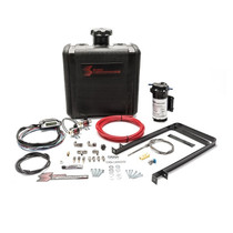 SNOW PERFORMANCE SNO-500 Diesel Stage 3 Boost Cooler Water-Methanol Injection Kit Dodge 5.9L Cummins (Red High Temp Nylon Tubing, Quick-Connect Fittings)
