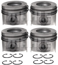 MAHLE 6.6L PISTON STD OVERSIZE ***RIGHT BANK ONLY***(06-09 DURAMAX LMM/LBZ) **SET OF 4**